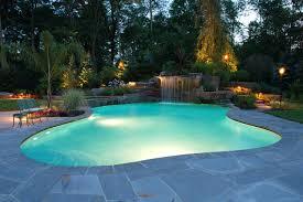 swimming pool lighting design.  Lighting Allendale NJ  Swimming Pool And Landscape Design Lighting Tropicalswimming Pool To N
