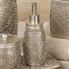 Jag Antique Gold And Silver Bath Accessories