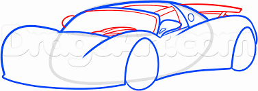 Small Picture How to Draw the Hennessey Venom GT Step by Step Cars Draw Cars
