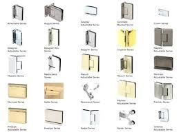 appealing frameless shower door hardware glass shower door hinges from us horizon frameless shower door hinge