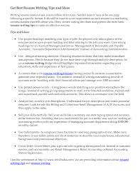 Fair Resume Writing Tips And Examples In I Read Examples Best Resume