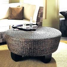 gray ottoman coffee table round upholstered coffee table ottoman storage fabric rectangular gray tufted ottoman coffee