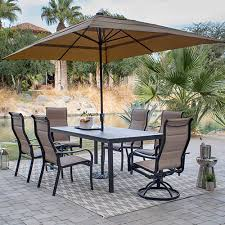 large outdoor umbrella with heater