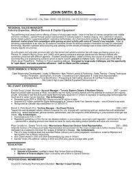 Regional Sales Manager Job Description Sales Executive Example Area