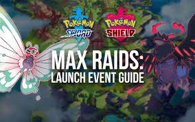 Pokémon Sword & Shield Max Raid Launch Event Guide