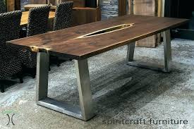 walnut table legs desk table legs a heirloom black walnut live edge table desk with stainless walnut table legs