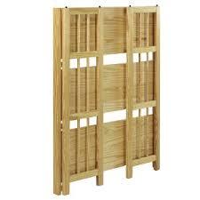 Folding; Stacking; Bookcase; Foldable; Storage; Solid Wood