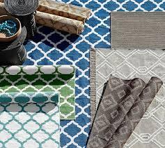 becca tile reversible indooroutdoor rug green pottery oliver pinstripe indooroutdoor rug naturalblack pottery barn outdoor