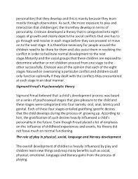 sample essay on personality development essay on personality development