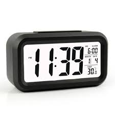 best travel alarm clock best digital alarm clock with calendar battery operated hover to zoom