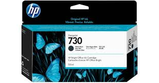 <b>HP 730</b> 130ml (<b>Matte</b> Black) • Find prices (11 stores) at PriceRunner »