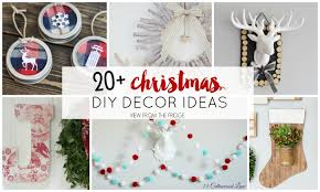 easy diy christmas decor ideas view from the fridgeview from the