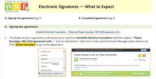 How To Do An Electronic Signature Electronic Signature Herbalife Nutrition Foundation