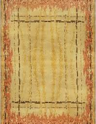 vintage french deco rug bb6789