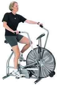 fan exercise bike. the schwinn airdyne exercise bike was first patented fan to provide a full total body workout. they were brought on market in h