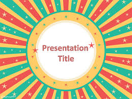 Free Retro Frame Powerpoint Template Download Free