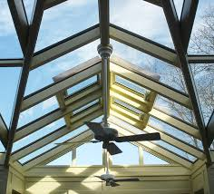 custom glass roof system by sunspace design inc