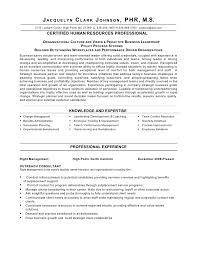 Human Resources Resume Template Sarahepps Com
