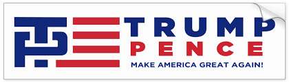 political campaign bumper stickers hot off the presses everything anything trump pence greatgets com