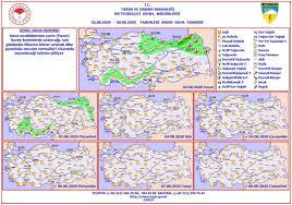 Haftalık Hava Durumu (2 - 8 Ağustos... - Burdur Meteoroloji Müdürlüğü