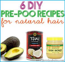 6 pre poo recipes for natural hair
