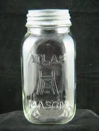 Mason Jar Age Chart The Atlas Book Is Dated 1939 I Couldn