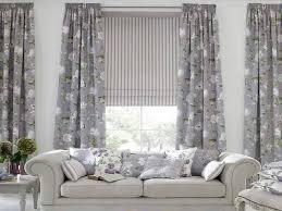 greyscale curtain idea for living room