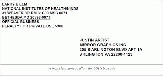 Sending Letter Format In Envelope Address Professional