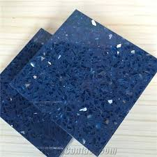 sparkle blue quartz stone with bright surfaces for prefab countertops your first kitchen countertop options nonporous more durable than granite countertops