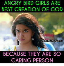 Girls Quotes Impressive ANGRY BIRD GIRLS ARE BEST CREATION OF GOD Quotes BECAUSE THEY ARE SO