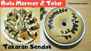 Jangan lupa bagikan resep ini dengan teman. Bolu Marmer 2 Telur By Hery Kurniati Langsungenak Com