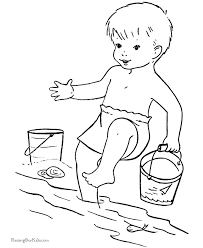 Small Picture Beach Coloring Pages Sheets and Pictures