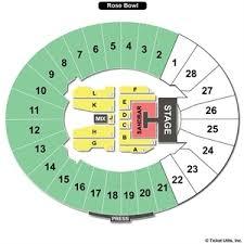 Rose Bowl Seating Chart Justin Timberlake Concert 2019