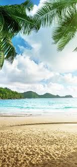Tropical Beach View HD Wallpaper ...