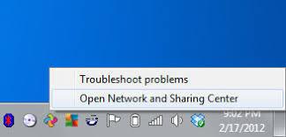 Image result for windows 7 wifi icon right click