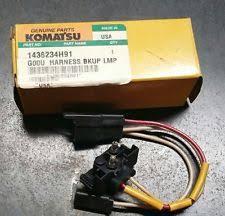 construction equipment parts for komatsu komatsu 1436234h91 wire harness