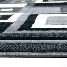 black and white area rug 8x10 black and white rugs black area rug black white area
