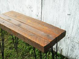 Pallet Entry Table Wood Entry Table