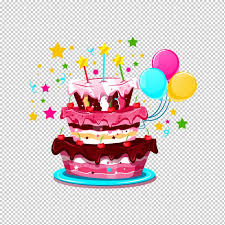 Birthday Cake And Balloons Png Hd Birthday Cake And Balloons Png