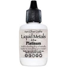 Ken Oliver Color Burst Liquid Metal 6gm Platinum