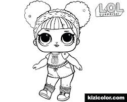 Lol Doll Coloring Pages To Print Free Pets Dawn Color Engaging Pri