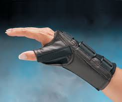 liberty leather d ring thumb wrist orthosis