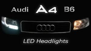 Audi A4 Front Lights Audi A4 B6 Led Headlights