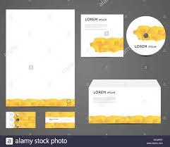 Corporate Identity Set Of Business Card Cd Envelope Letterhead