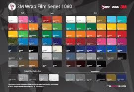 Vinyl Wrap Color Chart Vehicle Colour Change And Wraps A Selection Of Our Colours