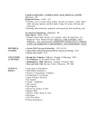 labor delivery - Labor And Delivery Nurse Resume Sample