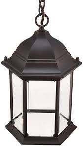 Outdoor Light Fixtures Amazon Acclaim 5186bk Madison Collection 1 Light Outdoor Light Fixture Hanging Lantern Matte Black
