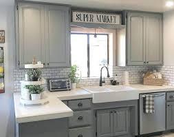 backsplash with white cabinets and grey countertop white cabinets with grey kitchen subway