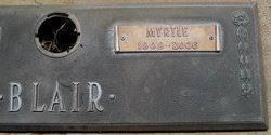 Myrtle Ervin Blair (1909-2006) - Find A Grave Memorial