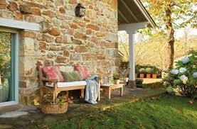 Small Picture Outdoor Home Decor Ideas Glamorous Design Stone Cottage Outdoor
